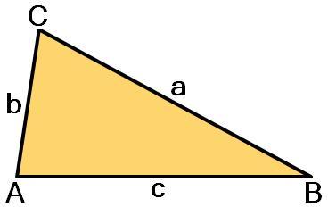 Tompaszögű háromszög
